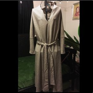 beige eloquii dress